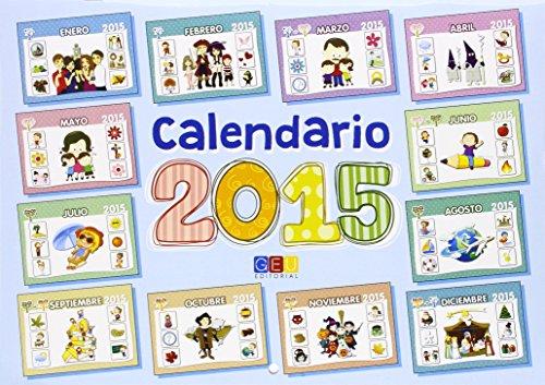 Calendario 2015. Educacion Infantil e integración por G.E.U.