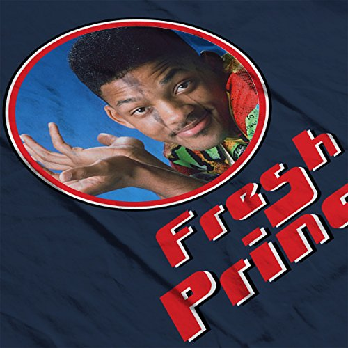 Fresh Prince Of Bel Will Smith Retro Photo Frame Men's T-Shirt Navy Blue