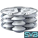 #7: SMB Stainless Steel 4 Tier Idli Maker