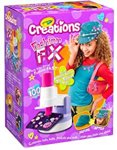 Crayola creations fashion fx designer set Crayola fashion design studio reviews