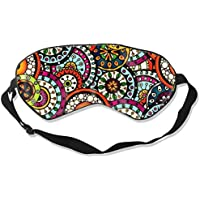 Eyes Mask Promotion Flower Printing Silk Mask Contoured Eye Masks for Sleeping,Shift Work,Naps preisvergleich bei billige-tabletten.eu