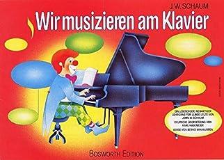 Wir musizieren am Klavier 1. mit Schaum-Tastenfinder