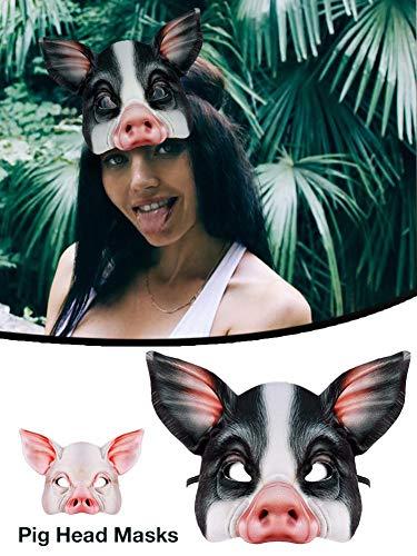 Zoom IMG-3 aheadad maschera di maiale mezza