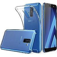 Acelive Funda Samsung A6 Plus, TPU Silicona Case Cover Carcasa Protector para Samsung Galaxy A6 Plus 2018 (transparente)