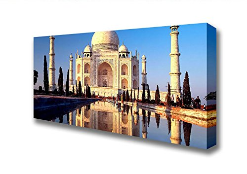 panoramic-reflections-of-the-taj-mahal-agra-india-canvas-art-prints-large-20-x-48-inches