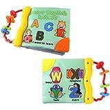 imjono desarrollo Inteligencia Cloth Libro de cognición y actividad juguetes de aprendizaje para niños bebé (carta)