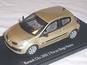 renault clio 3 iii generation beige 3 t rer 1 43 eligor modellauto modell auto sonderangebot. Black Bedroom Furniture Sets. Home Design Ideas