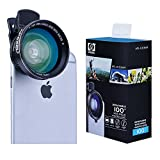 Best Apexel Iphone 6 Lenses - Apexel 2-in-1 Cellphone HD Camera Lens Kit 0.63x Review