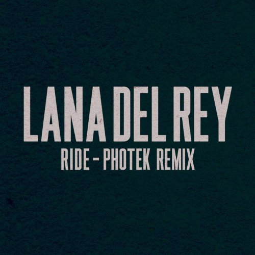 Ride (Photek Remix)  [Explicit]