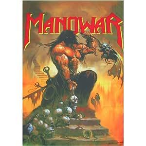 Drapeau Manowar - Agony et Ecstacy