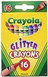 Crayola - 52-3716–Glitter 16Wax Crayons