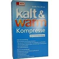 KALT-WARM Kompresse 12x29cm mit Fixierband, 1 St preisvergleich bei billige-tabletten.eu
