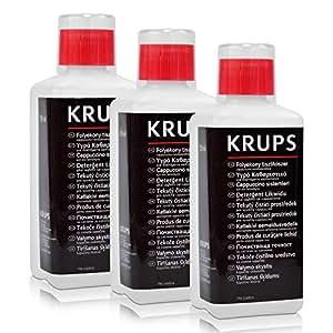 3 x liquide de nettoyage pour Krups XS 4000 pour tBuse de moussage 250 ml