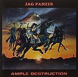 Jag Panzer: Ample Destruction (Ltd.Clear/Red Splatter Vinyl) [Vinyl LP] (Vinyl)