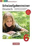 Deutschbuch - Realschule Bayern: 6. Jahrgangsstufe - Schulaufgabentrainer mit Lösungen - Renate Kroiß