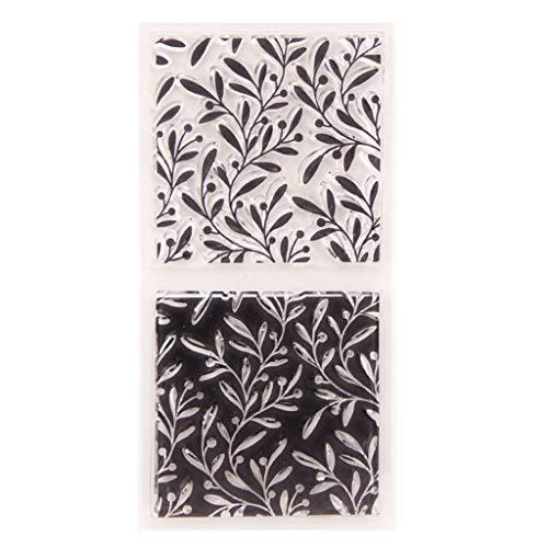 Bogji - Vine Silikon Clear Seal Stempel DIY Scrapbooking Prägung Fotoalbum Dekorative Papier Karte Handwerk Kunst Handgemachtes Geschenk