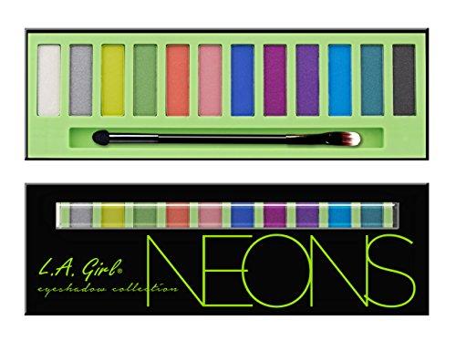 L A Girl Beauty Brick Eyeshadow, Neons, 12g