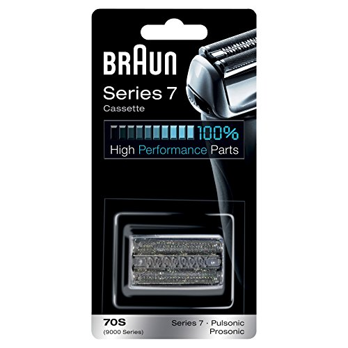 Braun 70S Series 7 Electric Shaver Replacement Foil and Cassette Cartridge – Silver