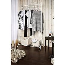 Kleiderständer Weiß Metall suchergebnis auf amazon de für kleiderständer weiß vintage