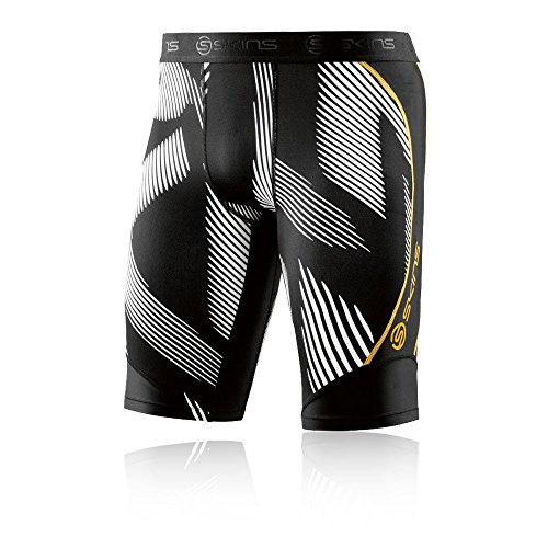 Kompression Running Shorts (Skins DNAmic Kompression 1/2 Strumpfhosen - Large)