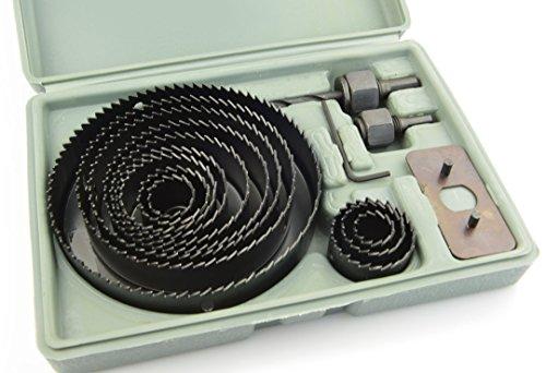 NOVOTOOLS - Kit de perforaciones para cortar agujeros en madera o plásticos...