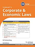 Corporate & Economic Laws (CA-Final)(Nov 2019 Exam-New Syllabus)(3rd Edition July 2019)