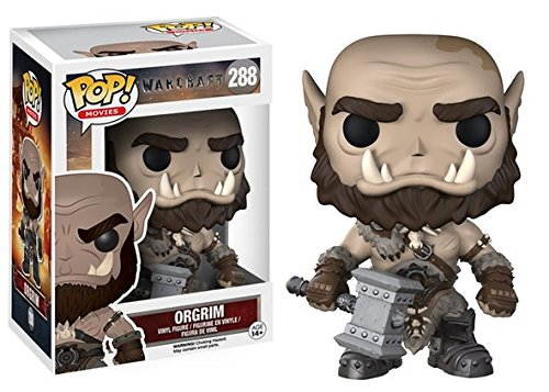 Funko Pop: Movies: Warcraft - Orgrim Collectable Figure + FUNKO PROTECTIVE CASE