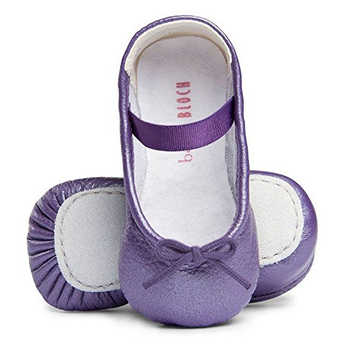 (Bloch Hausschuhe Cha Cha Lavendel, Violett - Violett - Größe: 18)