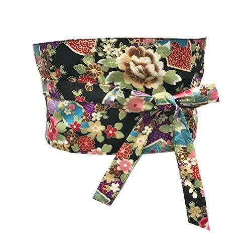 Fancy Pumpkin Cintura dEpoca Giapponese Yukata Kimono Robe Obi Cintura Harajuku D13