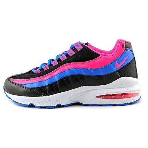 Nike Air Max '95 le (Gs), Scarpe da Corsa Bambina, Talla Nero / colore rosa / blu / verde (nero / rosa Pow-Photo Blu-Volt)