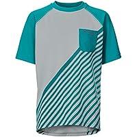 VAUDE Niños Kids Grody Camiseta III–Camiseta, Primavera/Verano, Infantil, Color Reef, tamaño 146/152