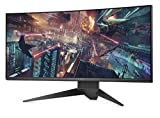 DELL ALIENWARE AW3418DW 86,72 cm (34 Zoll) Monitor (HDMI, DisplayPort, LED, 4ms Reaktionszeit) schwarz