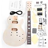 """Rocktile DIY Single Cut Bausatz E-Gitarre (""""Do-it-yourself"""" E-Gitarre Bausatz Single Cut-Style, Korpus: Linde, Hals: Ahorn geschraubt, Griffbrett: Palisander)"""