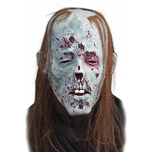Halloween Decay Zombie Maske für Erwachsene