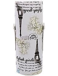 Porte-brosse de Maquillage Tube de Stockage Cas Cylindre de Support Cosmétique - 01