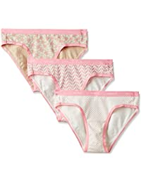 Amante Women's Stretch Cotton Bikini Panty (Pack of 3)