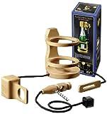 Philos 5521 - Flaschen-Safe mit Korkenzieher, Knobelspiel, geeignet für Flaschen bis max. 90 mm Durchmesser