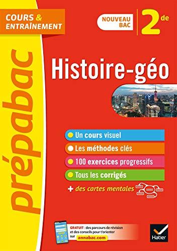 Histoire-géographie 2de - Prépabac: nouveau programme de Seconde 2019-2020