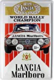 Lancia–Rally World Champion 1976Car Auto Cartel de chapa 20x 30Retro Chapa 1697