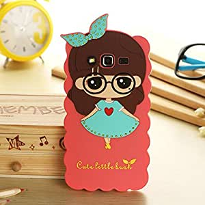 Cartoon Cute Little Bush Soft Silicone Case Cover For Samsung Galaxy Grand 2 G 7106