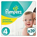 Pampers Premium Protection Windeln Gr. 4 (8-16 kg), 1er Pack (1 x 39 Stück)