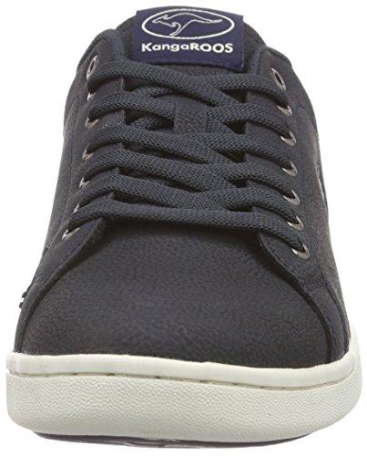 KangaROOS K-Classic 7060, Sneaker Basse Uomo Blu (Blu (dk navy 460))