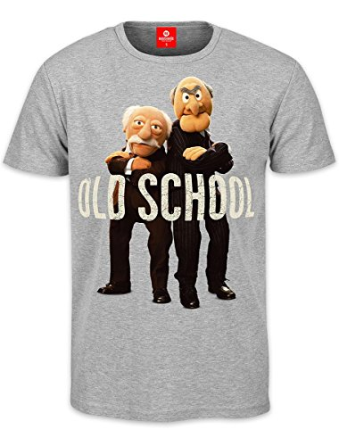 Muppets T-Shirt Grandmasters Statler & Waldorf Old School (XL) (Old-school-xl T-shirt)