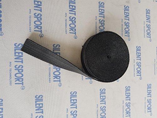 Neu! Schmales Original Silent Sport Auspuff- Hitzeschutzband 3cm x 10m Schwarz