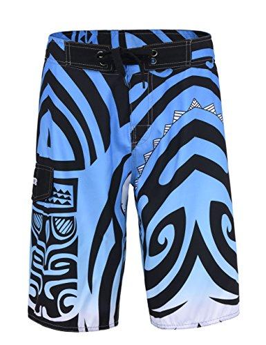Nonwe Men's Surf Boardshorts Quick-dry Beach Swim Pants