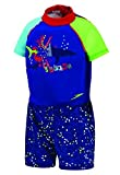 Speedo Kids' UPF 50+ Begin to Swim Polywog Swimsuit, New Blue, Medium by Speedo
