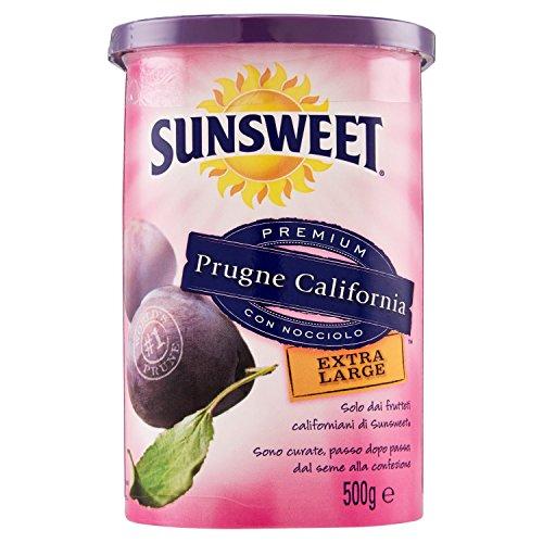 Sunsweet Prugne California Premium con Nocciolo Extra Large Barattolo - 500 gr