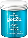 Schwarzkopf Got2b Chaot Fibre Gum Gel, 3er Pack (3 x 100 ml)