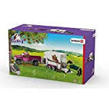 Schleich 42346 Pick up with Horse Box Action Figure