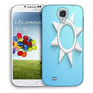 Snoogg Abstract Summer Background Designer Protective Back Case Cover For Samsung Galaxy S4